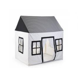 Childhome Domek textilní Black&White 125x95x145 cm