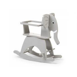 Childhome Houpací slon dřevěný Grey