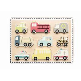 Jabadabado Puzzle auta