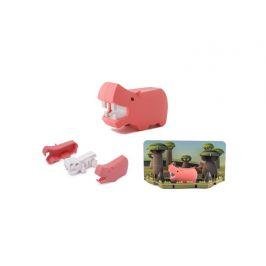 HALFTOYS HROCH - magnetická skládací hračka s 3D modelem savany