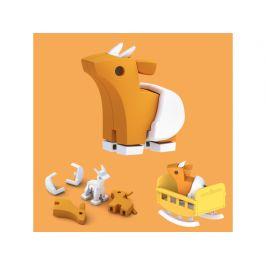 HALFTOYS BABY ANTILOPA - magnetická skládací hračka