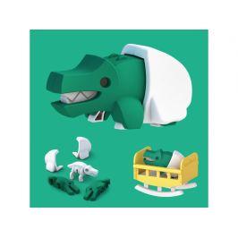 HALFTOYS BABY KROKODÝL - magnetická skládací hračka