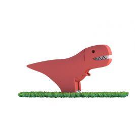 HALFTOYS T-REX - magnetická skládací hračka s 3D modelem prostředí