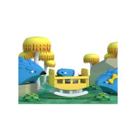 HALFTOYS BABY ANKYLO - magnetická skládací hračka