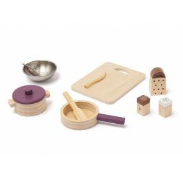 Kids Concept Sada na vaření dřevěná Bistro