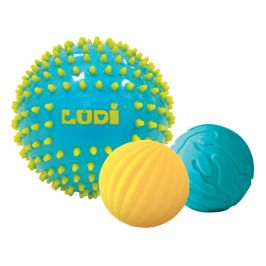 Ludi Senzorické míčky 3 ks modré