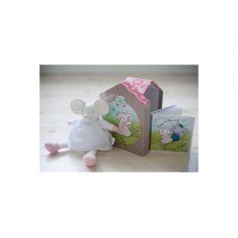 Meiya&Alvin Dárkový set DELUXE knížka + hračka myška Meiya