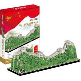 3D puzzle CUBICFUN Čínská zeď 75 dílků
