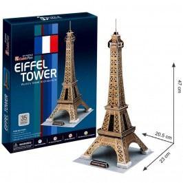3D puzzle CubicFun Eiffelova věž zlatá, Paříž