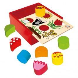 BINO Krabička s tvary Krtkek