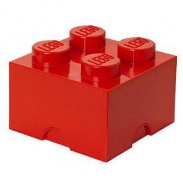 LEGO úložný box 250 x 250 x 180 mm - červená