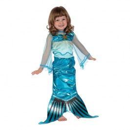 Kostým pro dívku - Mořská panna, velikost 92-104 cm