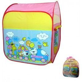 Dětský stan vláček (8594166097834)