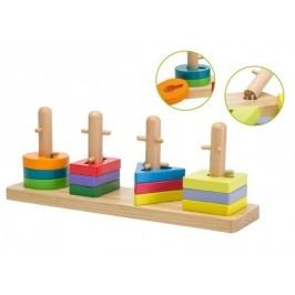 Skládačka dřevěná - různé tvary