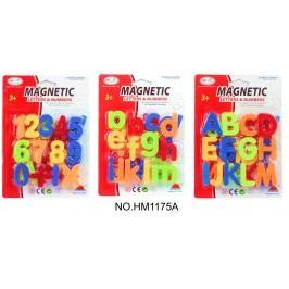 Magnetická písmenka/číslice