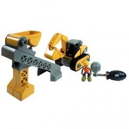MegaBloks stavební pro děti - stroje CAT set - Buldozer