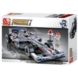 EPline Stavebnice F1 Závodní auto (stříbrné)