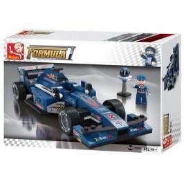 EPline Stavebnice F1 Závodní auto (modré)