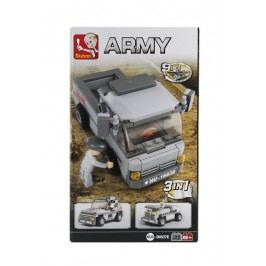 EPline Stavebnice 3v1 - Troop vehicle