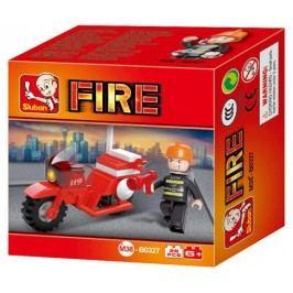 EPline Stavebnice požární motorka