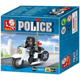 EPline Stavebnice policejní motorka