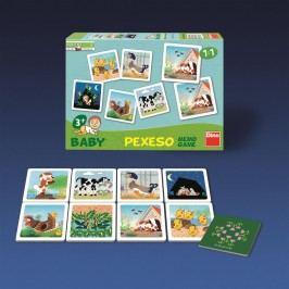 Dino Hra baby pexeso štěňátko
