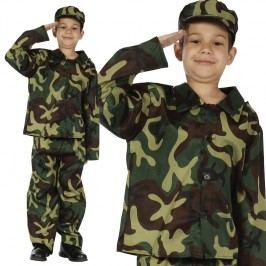 Kostým voják pro děti
