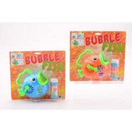 Stroj na bubliny rybička
