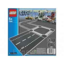 LEGO® City LEGO Rovná trasa a křižovatka 7280