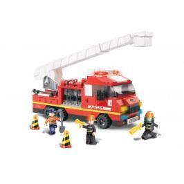 EPline Stavebnice Hasiči - hasičské auto,  270 dílků