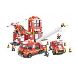 EPline Stavebnice Hasiči - sada hasičská stanice, 745 dílků