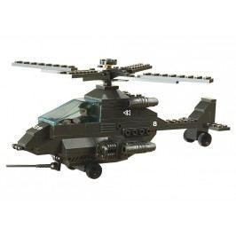 EPline Stavebnice Vojáci - vrtulník Apache, 158 dílků