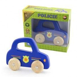 Studo Wood Policie na kolech dřevěná