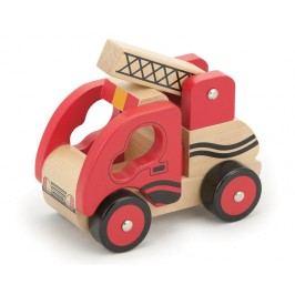 Studo Wood Hasičký vůz dřevěný