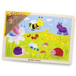 Puzzle louka - hmyz 24 ks