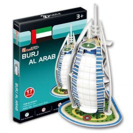 Alltoys Puzzle 3D Burj Al Arab - 17 dílků