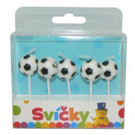 Svíčky fotbalové míče 5 ks