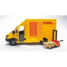 Bruder 2534 MB Sprinter DHL s paletovým vozíkem
