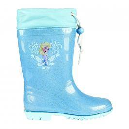 Disney Brand Dívčí holínky Frozen modré