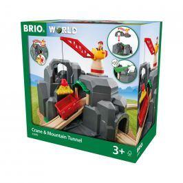 Brio Brio World 33889 Jeřáb a horský tunel