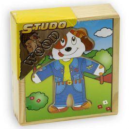 Šatní skříň - Pes dřevěná