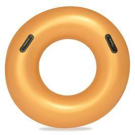 Nafukovací kruh zlatý 91 cm
