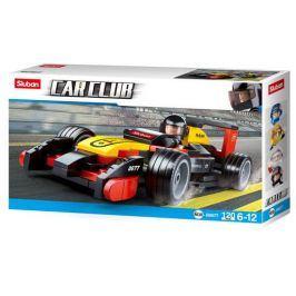 EPEE Sluban B0352 Formule F1 Racing Car Stříbrná 257 ks
