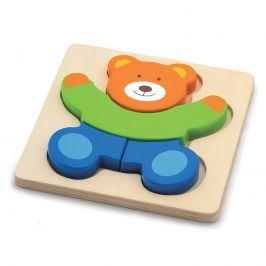 HM studio Puzzle medvěd dřevěné