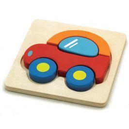 HM studio Puzzle auto dřevěné
