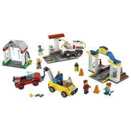 Lego City Town Autoservis