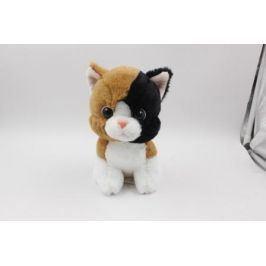 Plyšové zvířátko Hnědá kočička 17 cm