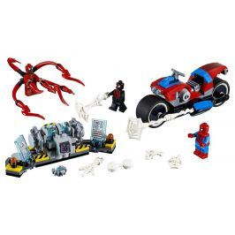 Lego Super Heroes Spiderman a záchrana na motorce