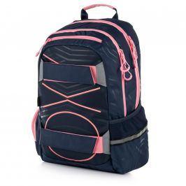 Studentský batoh - OXY Sport PASTEL LINE pink