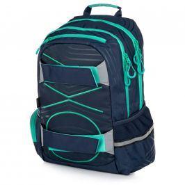 Studentský batoh - OXY Sport PASTEL LINE green